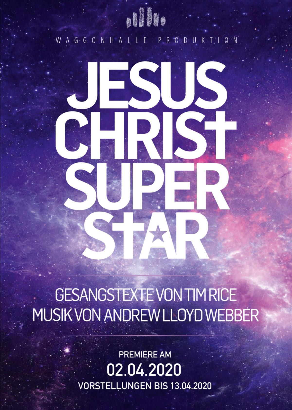 Casting JESUS CHRIST SUPERSTAR – Musical Waggonhalle